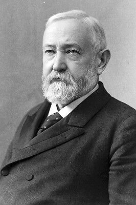 New 4x6 Photo:  Benjamin Harrison, 23rd President of the United States