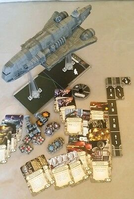 Star Wars x-wing imperial assault carrier