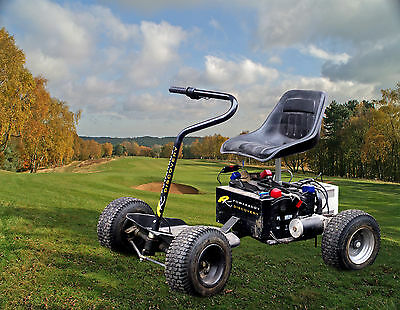 Single Seat Golf Buggy PowerKaddy Discovery - Secondhand - Green