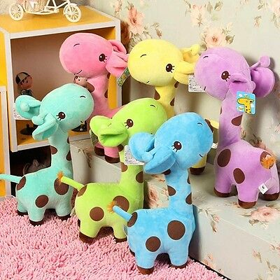 Plush Giraffe Soft Toys Animal Doll Baby Kids Children Birthday Gift Plush Stuff