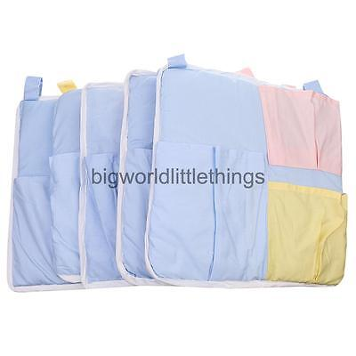 Baby Bed Hanging Diaper Nappy Toy Storage Bag Organization Nursery Bags