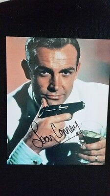 Sean Connery photo AUTOGRAPH AUTHENTIC HAND SIGNED + COA