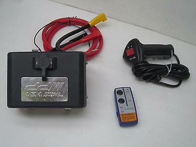 Electronic Control Winch Box 12V Relay solenoid Wireless Remote Switch Control