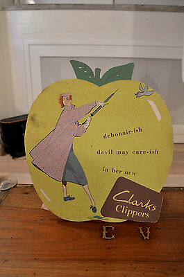 Rare Clarks Clippers shop Display Advertising unopened