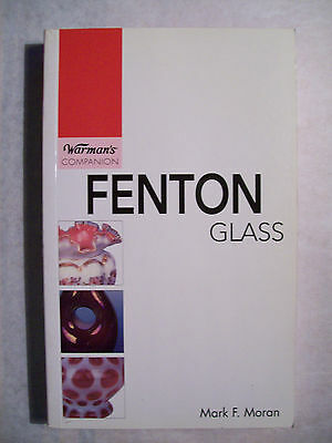 FENTON GLASS PRICE GUIDE COLLECTOR'S BOOK  Vases Baskets Bowls Candlesticks Rare