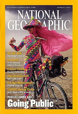 NATIONAL GEOGRAPHIC - 2001 August - Going Public