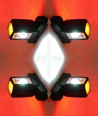 4X 24V Side Rear Led Marker Lights Lamps Indicator Truck Scania Iveco Daf Man