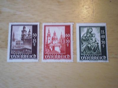 Stamps     Unused Was Hinged   3 Stamps   Osterreich   (Austria)