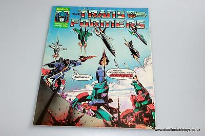 Transformers G1 UK Marvel Comic Issue #90 6th Dec. '86 RARE