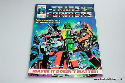 Transformers G1 UK Marvel Comic Issue #88 22nd Nov. '86 RARE