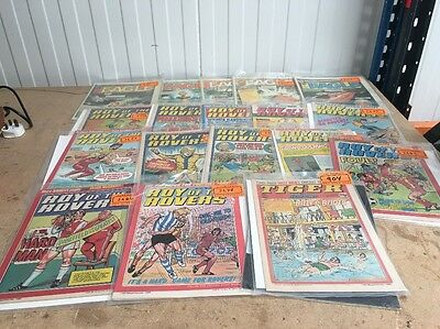 Joblot Of Roy Of The Rovers And Eagle Comics