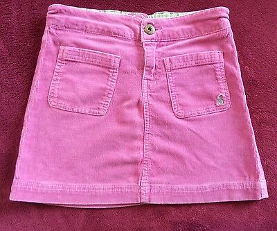 Joules Pink Skirt Age 8