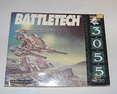 Battletech Technical Readout 3055, Corrected 2Nd Printing, 1992, Softcover.