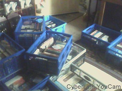 56 Crates of Books(1285) Mixed Media Varied Genres