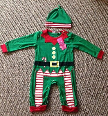 Elf outfit baby