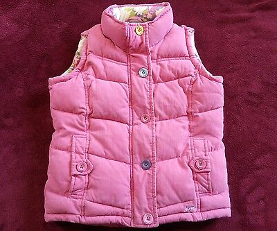Joules Pink Gilet/Body warmer Age 8