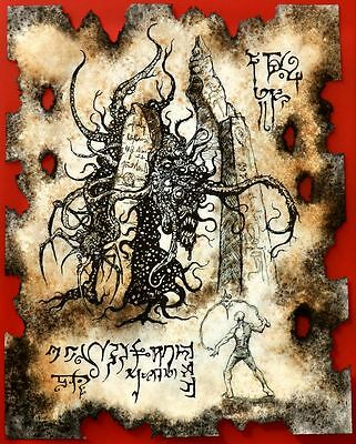 Cthulhu larp PIT OF THE SHOGGOTH necronomicon magick occult witch lovecraft