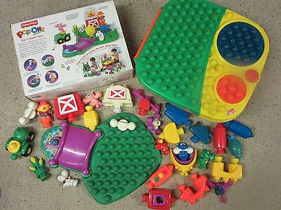 Heaps of Fisher Price Pop Onz, Musical Farm, Animals, Stacking and Storage Table