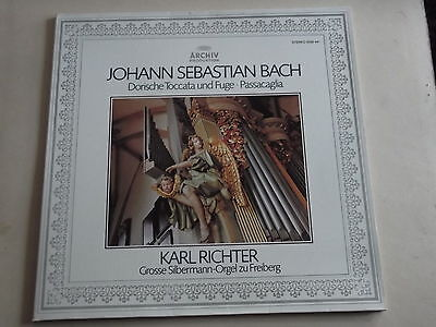 KARL RICHTER (FREIBERG CATHEDRAL ORGAN) - BACH ORGAN WORKS LP  2533 441 nm