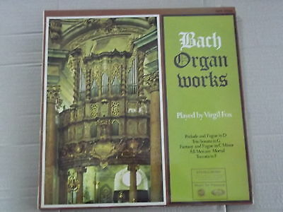Virgil Fox - Bach Organ Works Lp