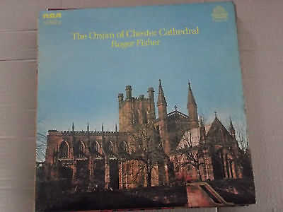 Roger Fisher - The Organ Of Chester Cathedral Lp  Vics 1644