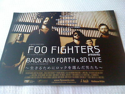 FOO FIGHTERS / 2011 TOUR flyer / JAPAN