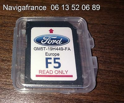 SD Ford GPS Sony Myford Europe  cartes originales  F5 2016