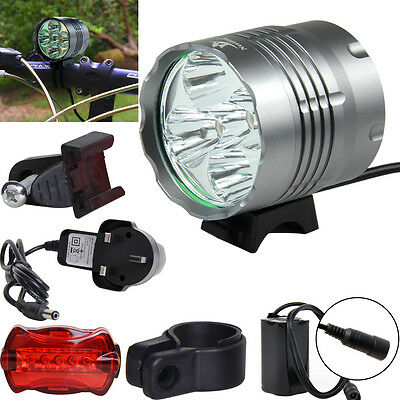 7000LM CREE XML T6 Mountain Headlight Bicycle Lamp Flashlight Bike Front Light
