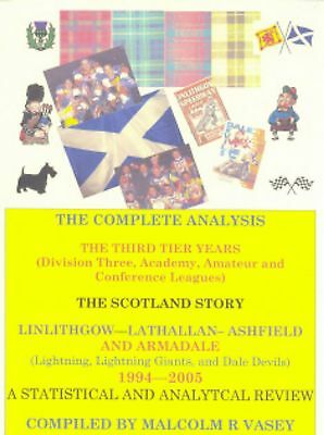 New Speedway Book - The Complete Analysis The Third Tier Years - Scotland Story