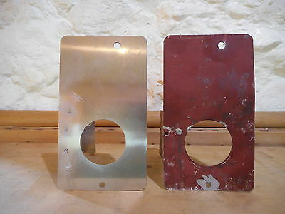 land rover series 1 - 2 oil / water temp panel