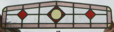 A142   Stained Glass window .