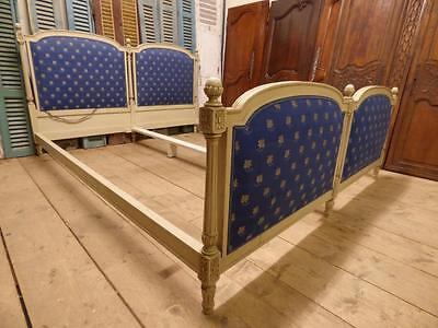 RARE VINTAGE FRENCH SUPER KING SIZE BED - ca42
