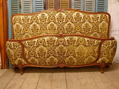 VERY RARE VINTAGE FRENCH SUPER KING SIZE BED - ca06