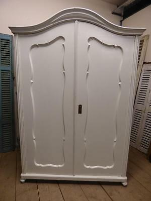 OLD FRENCH ARMOIRE - CUPBOARD - WARDROBE - 1 of a pair - ha185