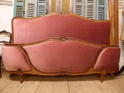 VERY RARE VINTAGE FRENCH SUPER KING SIZE BED- 6ft x 6ft 6 bed - hc20