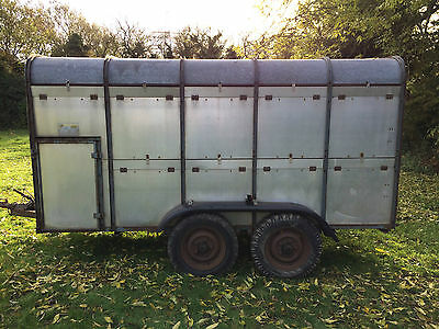 Ifor Williams Livestock Trailer 12' x 6' approx