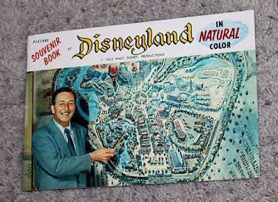 """Rare Near Mint Disneyland 1955(Version 2) """"official"""" Opening Year Guide Booklet!"""
