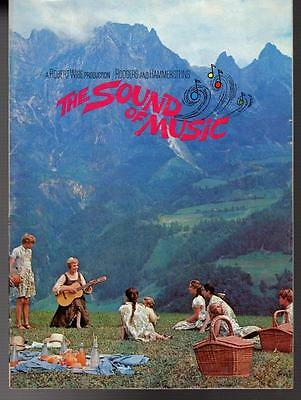 MBH28732 The Sound of Music 1965 Movie Pamphlet Japan book  Julie Andrews
