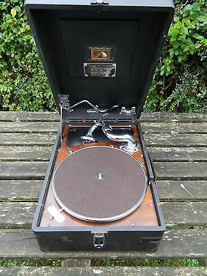 His Master's Voice Model 102   Portable Gramophone