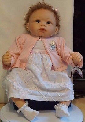 ASHTON DRAKE DOLL ~ A MOMENT IN MY ARMS, FOREVER IN MY HEART ~ Boxed ~ COA