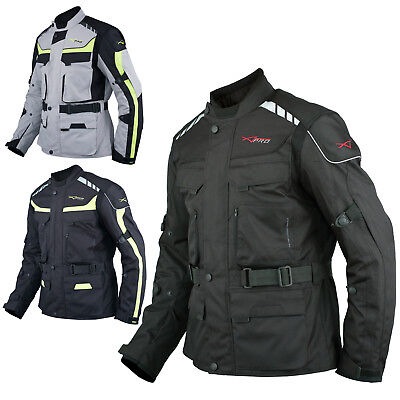 Chaqueta Moto Scooter Termica Impermeable Transpirable Textil