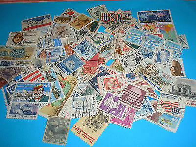120 Timbres Usa Obliteres N° 45