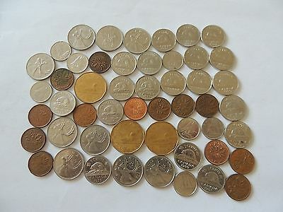 COLLECTION / BULK LOT OF CANADA COIN / CURRENCY Ref 266