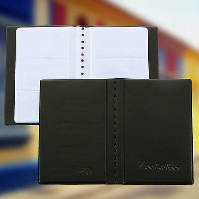 120 Sheets Business Name ID Bank Credit Cards Holder Book Case Organizer YA