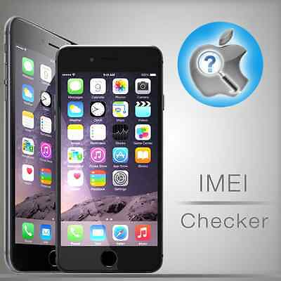 Fast iPhone IMEI Check Newtwork & Carrier Sim-Lock & Find My iPhone
