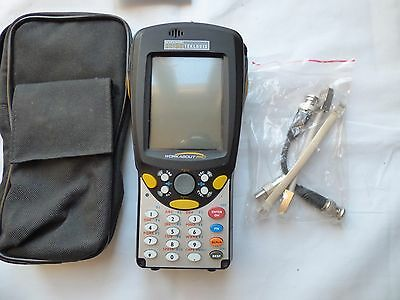 Psion Teklogix Workabout Pro 7525S-G1 Barcode Scanner Actaris & Leads