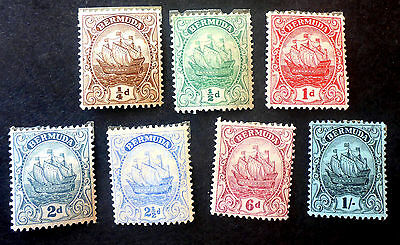 Bermuda Mint & Used 1940-48 Issues Total Cat.$22.60 Sailing Ship