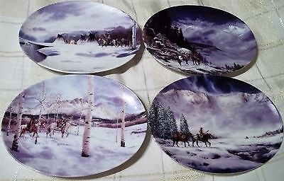 The Bradford Exchange - Ancient Seasons- 4 Plates First through Fourth Issue