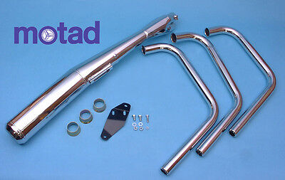 Motad - Yamaha XS850 complete exhaust system