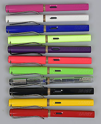 LAMY Safari Fountain Pens Various Colours NEW Made in Germany Various Nibs